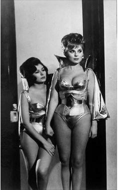 'Santo vs. The Martian Invasion' - 1967. Vintage Fashion Lingerie & Design z