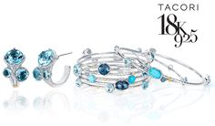 This collection is a blend of Tacori's amazing sense for detail and statement making designs. Their use of bold colours & layered looks, make these pieces the perfect accessory.