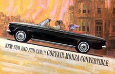 Chevrolet Corvair Monza.