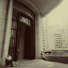 Foto by Talita Borges  #saopaulocity #inss