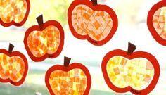 fensterdeko-herbst-kinder-basteln-fensterscheibe-papierstuecke-kuerbisse-gelb-orange
