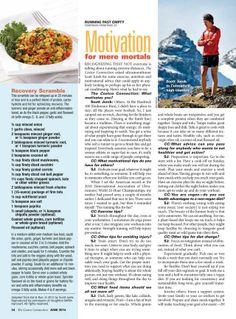 "Scott Jurek's ""Recovery Scramble"" recipe!"