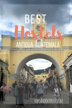 Antigua, Guatemala is a tourist hub where many travelers are constantly cycling in and out. There are a multitude of hostels to choose from in this small city, here are some of the best options!