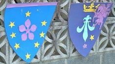 Fiesta medieval con castillo, caballeros y dragones