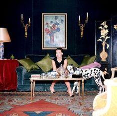 Coco Chanel's apt. Romy Schneider