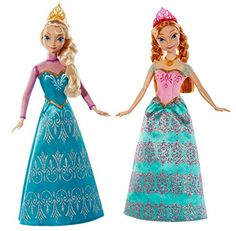 By Brand, Company, Character Brave Disney Frozen Sisters Anna & Elsa Dolls English 16 Phrases Dolls & Bears