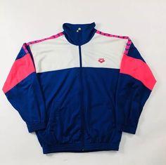 NIKE GIACCA TUTA felpa vintage 80s 90s giubbotto jacket in