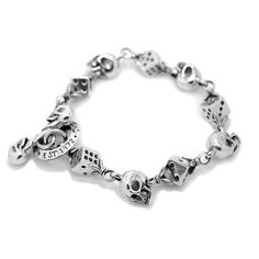 Skull & Dice Bracelet from The Great Frog London