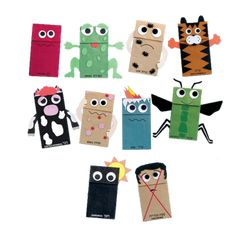 10 Plagues Hand Puppets Kit