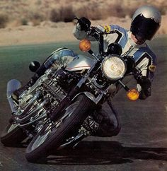 Phil Schilling's 30-year-old review of the Honda CBX   It's all about the engine or it's all engine