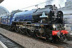 Tornado 60163 in her new livery Live Steam Locomotive, Luxury Sailing Yachts, Heritage Railway, Old Steam Train, Old Wagons, Steam Railway, Abandoned Amusement Parks, Train Art, British Rail