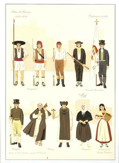 Civilian defenders, Seige of Gerona, 1809 Colonial India, Spanish Colonial, Army History, Spanish Projects, Army Uniform, Military Uniforms, American War, Spain And Portugal, Napoleonic Wars