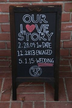 Cool sign at a Vintage Glam Engagement Party!  See more party ideas at CatchMyParty.com!