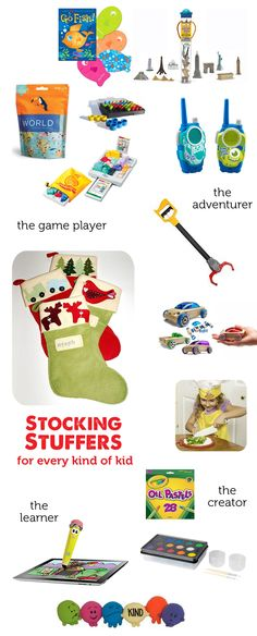 Great list of stocking stuffers - something here for every kid I'm shopping for this year!