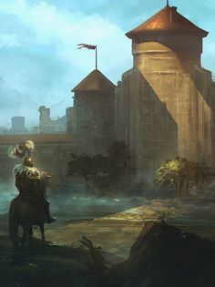 Fantasy Art And Other Stuff: fantasyartwatch:   Finally Home by Sebastien Hue