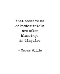 'What seems to us as bitter trials are often blessings in disguise' Metal Print by IdeasForArtists Words Quotes, Wise Words, Me Quotes, Motivational Quotes, Inspirational Quotes, Sayings, Pretty Words, Beautiful Words, Cool Words