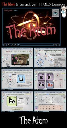 Empower your students to direct their own learning with this complete, interactive eLearning lesson on The Atom. Science Resources, Science Lessons, Teaching Science, Science Activities, Teaching Resources, Science Ideas, Science Experiments, Science Geek, Physical Science