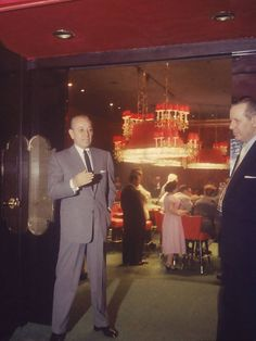 George Raft at Casino de Capri. Havana, Cuba March 1958