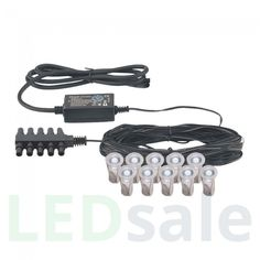 6-Pack Eco Mini LED Decklight Set