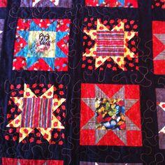 FMQing Phoebe's quilt