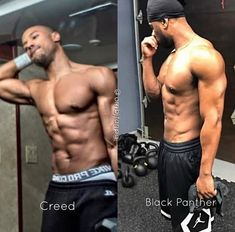 Michael b.Jordan getting his body right ❤❤ Fine Black Men, Handsome Black Men, Fine Men, Michael Bakari Jordan, Fine Boys, Dream Guy, Most Beautiful Man, Man Crush, Sensual