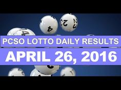 PCSO Lotto Results Today, April 26, 2016 Plus Next Draw Lotto Tips - http://LIFEWAYSVILLAGE.COM/lottery-lotto/pcso-lotto-results-today-april-26-2016-plus-next-draw-lotto-tips/