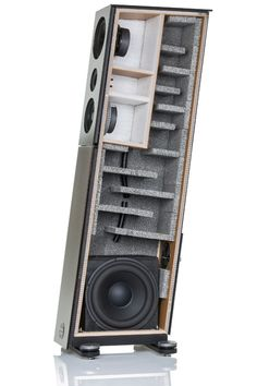 Audio Physic Structure is in every respect a loudspeaker for connoisseurs with phenomenal sound. Ceiling Speakers, Diy Speakers, Pro Audio Speakers, Hifi Audio, Built In Speakers, Audiophile Speakers, Speaker Amplifier, Audio Design, Sound Design