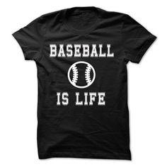 BaseBall Is Life Tshirt T Shirt, Hoodie, Sweatshirts - cheap t shirts #Tshirt #T-Shirts