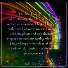 Hopi prophecy: Warriors of the Rainbow Native American Prayers, Native American Spirituality, Native American Wisdom, Native American History, Spiritual Awakening, Spiritual Quotes, Spiritual Encouragement, Spiritual Messages, Spiritual Guidance