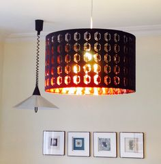 Really pleased with our new IKEA Nymo lamp shade in black and copper. Makes a bold statement