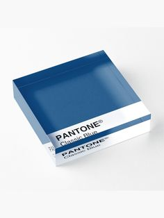 'Pantone Classic Blue Color of the year Acrylic Block by Sadaf F K. Pantone Classic Blue Color of the year 2020 Acrylic Block by sadaffk Pantone 2020, Branding Kit, Color Of The Year, Texture Art, Pantone Color, Sell Your Art, Color Inspiration, Diamond Cuts, Color Schemes