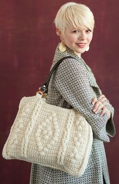 Bag pattern in feb 2012 issue of crochet today