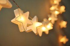 35 Ampoules : le mûrier blanc à la main en papier étoiles par ginew