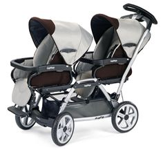 Peg Perego Duette SW Stroller KIT# Complete Duette Java (seats and chassis) Quad Stroller, Umbrella Stroller, Jogging Stroller, Best Baby Strollers, Twin Strollers, Double Strollers, Double Stroller For Twins, Twin Pram, Best Lightweight Stroller