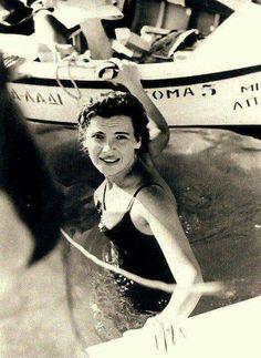 ΤΖΕΝΗ ΚΑΡΕΖΗ Actors & Actresses, Vintage Ladies, Cinema, People, Movie Posters, Faces, Women, Greece, Movies