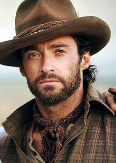 Hugh Jackman is gorgeous.