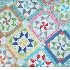 Scrappy Project Planner Sew Along - Week Two - Shortcut Stars Quilt!!