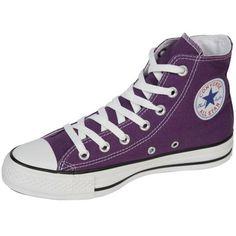 448ffbb7b5e1 Buy Converse Unisex Chuck Taylor All Star Core Hi Canvas Laker Purple 4 UK.