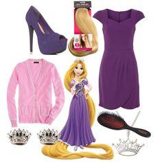 How to dress like a Disney princess ~ Rapunzel (Tangled)