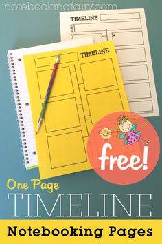 Timeline Notebooking Pages – Notebooking Fairy. For use with MoH Homeschool Curriculum, Homeschooling Resources, Homeschool Supplies, Social Studies Resources, Mystery Of History, Readers Workshop, Teaching History, Interactive Notebooks, Classroom Timeline