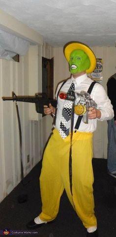 Jim Carrey's The Mask Halloween Costume  #Halloween #Costumes #HalloweenCostumesForFamily Sherman Financial Group