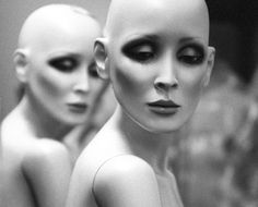 Black and White Photography Art Mannequin Photo Secret Society