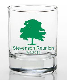 Custom Shot Glasses Family Reunion Favors