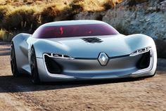 La marque au losange inaugure un nouveau cycle design et présente la Trézor, digne héritière du concept car Dezir de 2010. Électrique, sublime et racée, les adjectifs pour qualifier la Trezor rarement utilisés pour Renault.
