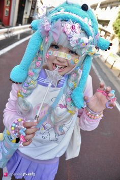 Rawrr! Cute Decora Girl Kaho