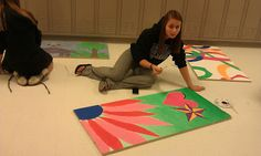 Art with Mrs. Withem: Art club- ceiling tiles