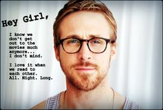 Ryan Gosling Reads to You