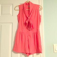 Asos Pink Romper Super cute! ASOS Dresses