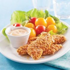 Croquettes de poulet aux céréales - 5 ingredients 15 minutes Eat Me Drink Me, Food And Drink, Daycare Menu, Freezer Meals, Family Meals, Poultry, Macaroni And Cheese, Cooking Recipes, Yummy Food