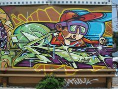 Rime MSK SeventhLetter LosAngeles Graffiti Art   Flickr - Photo Sharing!